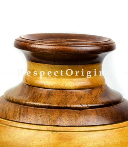 Buy Rosewood Joint Wooden Flower Vase At RespectOrigins.com