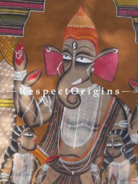 Traditional|Art Works|Ganesha|Kalighat Paintings|RespectOrigins