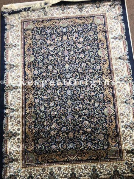 Buy Kashmiri Silk Luxurious Carpet in 4x6 Ft At RespectOriigns.com