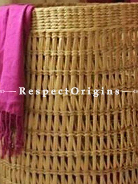 Handmade|Eco friendly|Organic Kauna Grass Laundry Basket|RespectOrigins