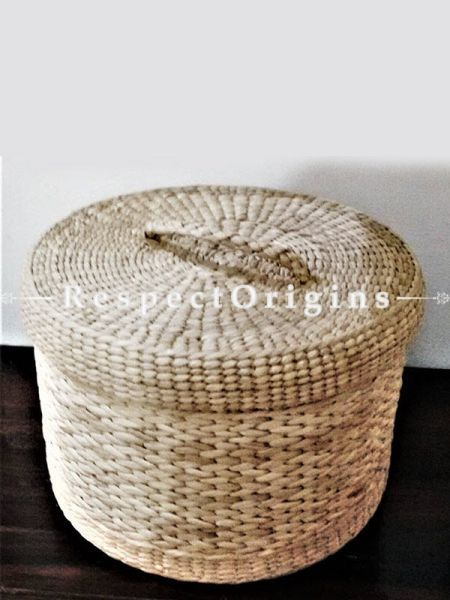 Handmade|Eco friendly|Organic|Kauna Round Box with Lid|RespectOrigins