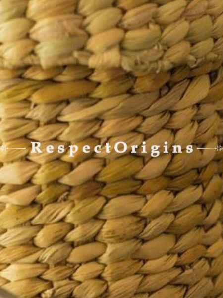Handmade|Eco friendly|Organic Kauna Round Jewellery Box|RespectOrigins