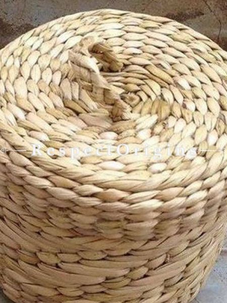 Handmade|Eco friendly|Organic|Kauna Grass Round Jewellery Box|RespectOrigins