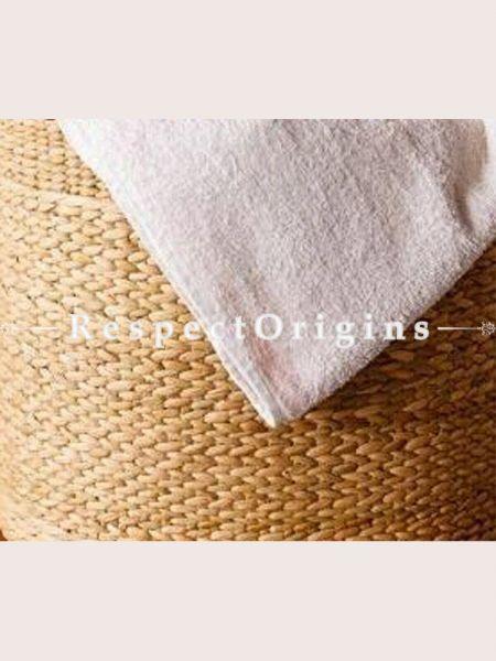 Handmade|Eco friendly|Organic|Kauna Grass Round Large Basket with Handle|RespectOrigins