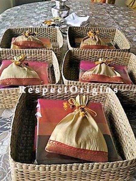 Handmade|Eco friendly|Organic| Kauna SqUARE Basket|RespectOrigins