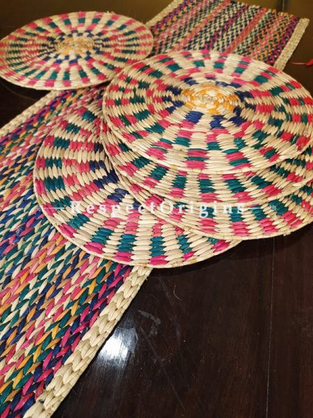 Buy Hand-braided Organic Kauna Grass Table Runner