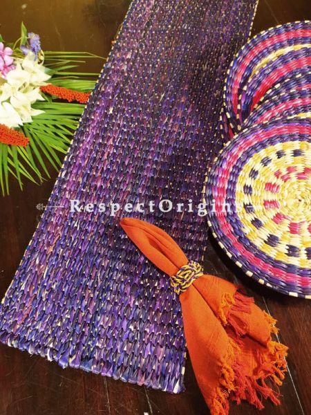 Buy Hand-braided Organic Kauna Grass Table Runner