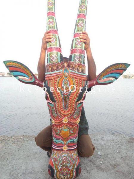 Buy Kerala Hand Painted Cowhead 7 Feet At RespectOrigins.com