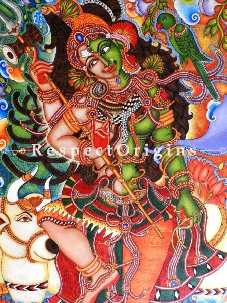 Original art Fine Art Wall Art Kerala Mural Painting RespectOrigins