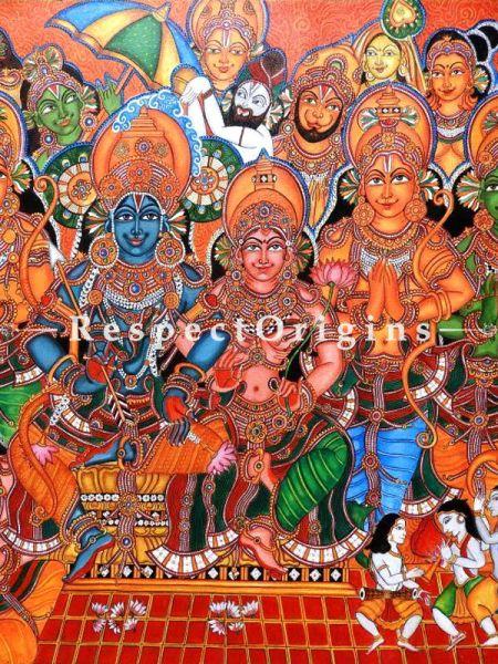 Original art Fine Art Wall Art Mural Rama  Painting RespectOrigins