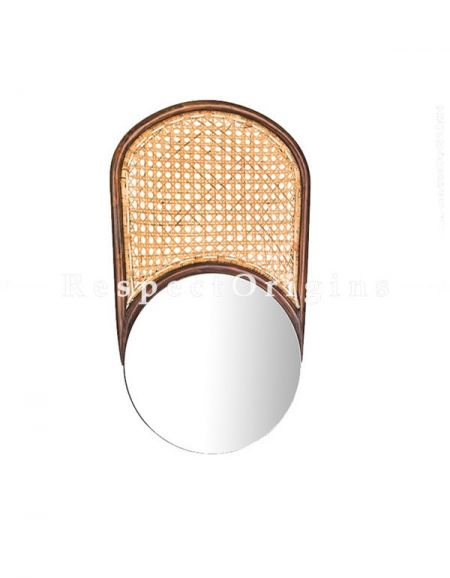 Buy Wall Mountable Cane Mirror At RespectOrigins.com