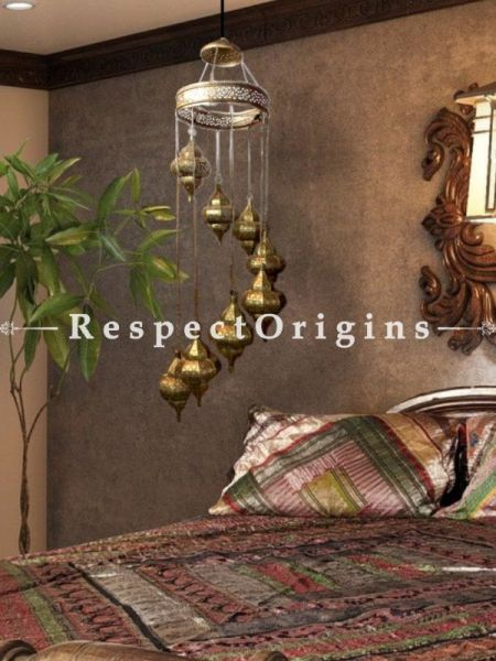 Buy Adorable Chandelier Lamps Set of 8 Suspended via a Copper Dome. At RespectOriigns.com