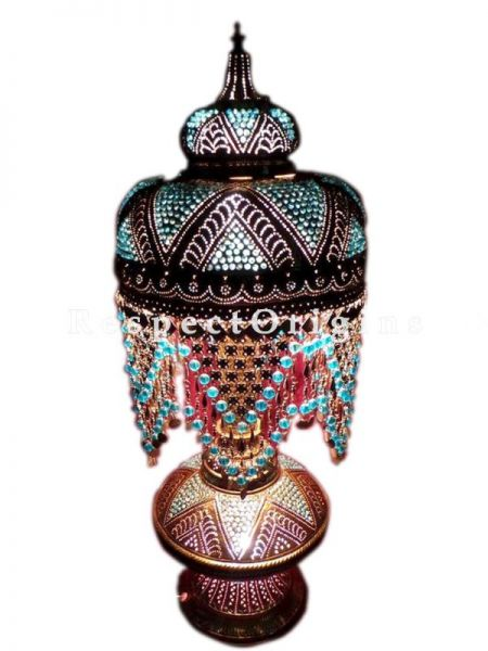 Buy Turkish Mosaic Glass Table Lamp At RespectOriigns.com