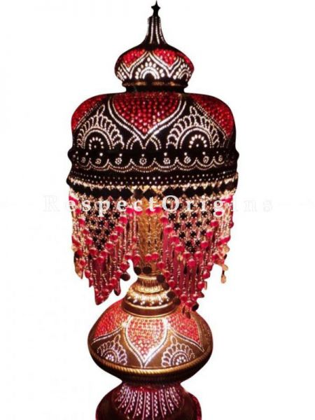 Buy Opulent And Classic Mosaic Marrakesh Ottoman Bedside Table Lamp At RespectOrigins.com