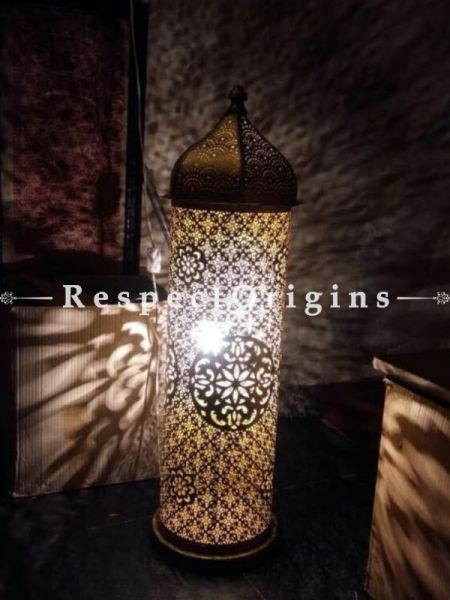 Buy Mesmerizing Mosaic Marrakesh Ottoman Floor Lamp At RespectOriigns.com