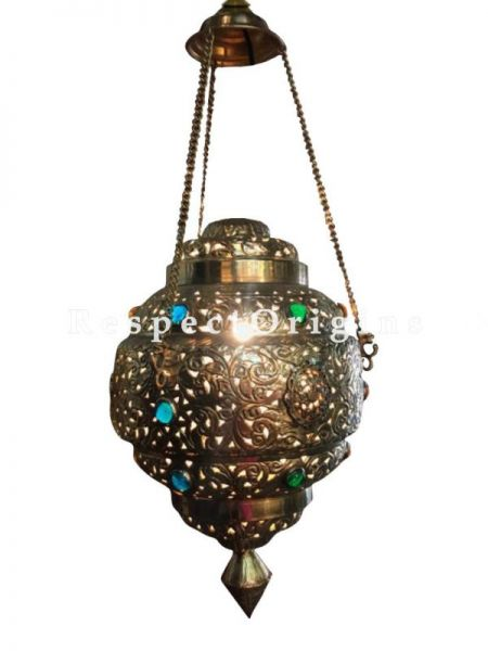 Buy Stunning Moroccan Filigree Ceiling Hanging Pendent Lamp At RespectOriigns.com