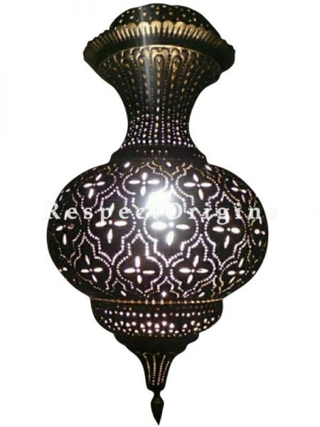 Buy Moroccan-inspired Hanging Lamp; Pendant Lantern At RespectOriigns.com