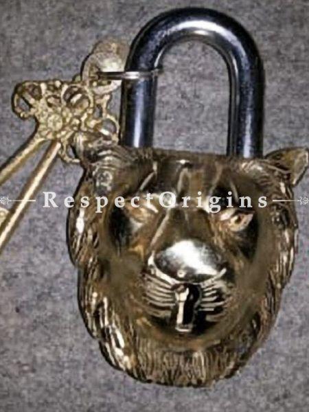 Buy Lion Vintage Design Working Functional Lock with Keys At RespectOrigins.com