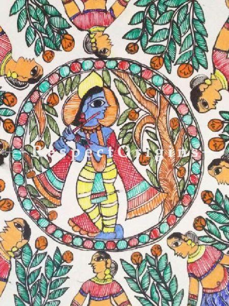 Original art Art Collection Krishna With Gopis