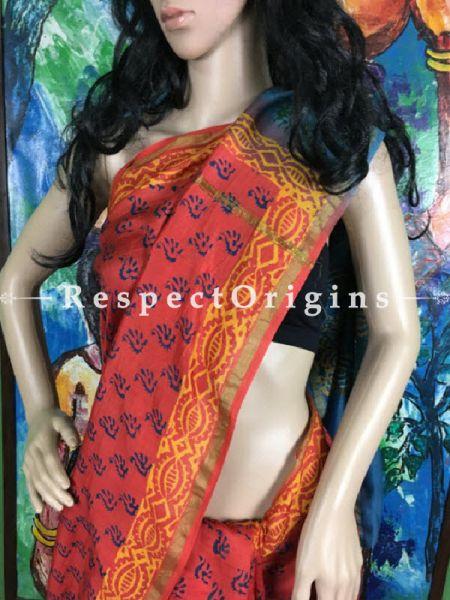 Buy Maheshwari Sarees Online, indigo, RespectOrigins.com
