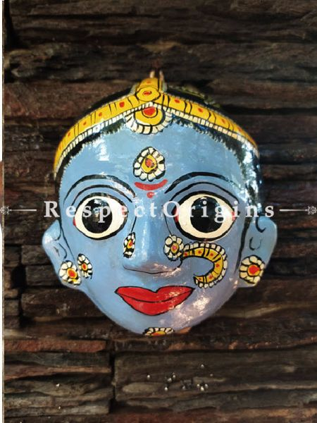 Buy Hand painted Man And Woman Cheriyal Mask At RespectOrigins.com