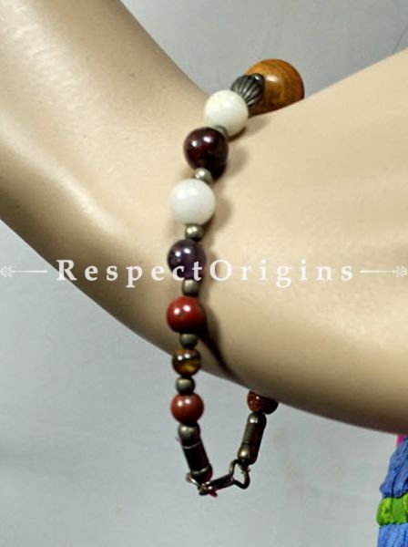Divine Multicolored Beads Bracelets, RespectOrigins.com