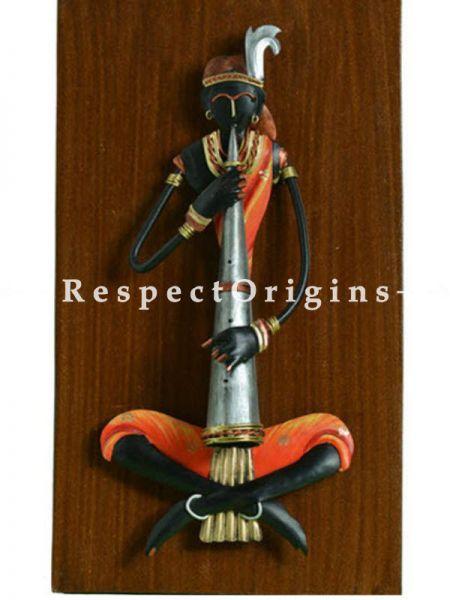 Buy Folk Musicians in Wrought Iron, 16x9 in At RespectOrigins.com