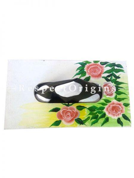 Buy Napkin Holder or Tissue Holder in Pink Color, Wooden, Hand Painted At RespectOrigins.com
