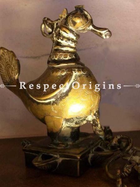 Buy Oil Brass Lamp of Light-bearing Bird At RespectOrigins.com