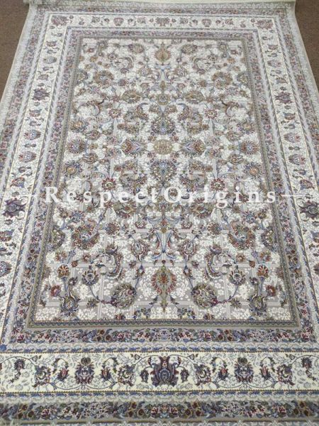 Buy Kashmiri Silk Carpet; 5x7 Ft At RespectOriigns.com