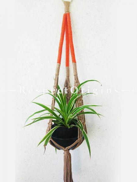 Buy Set of 5 Hanging Planter Holder, Macrame At RespectOrigins.com