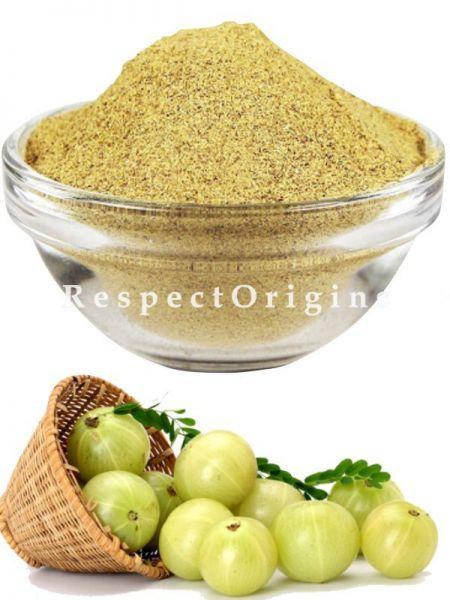 Set of 3 Organic Amla (100 gms), Brahmi (100 gms), Anti Hair Fall Triphla Moringa Hair Pack Powder (75 gms) With 1 Natural Neem Wood Comb; RespectOrigins.com