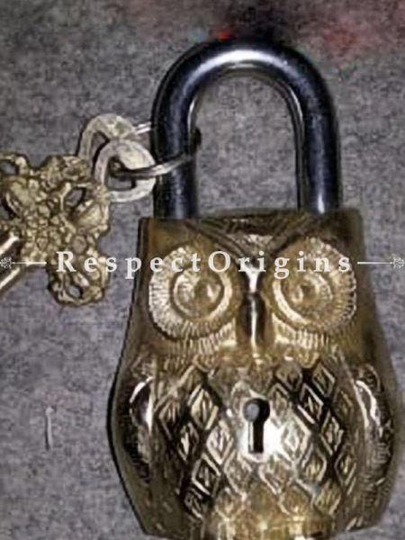 Buy Owl Vintage Design Working Functional Lock with Keys At RespectOrigins.com