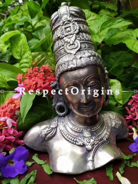 Buy Parvati Bust in Silver and Bronze At RespectOrigins.com