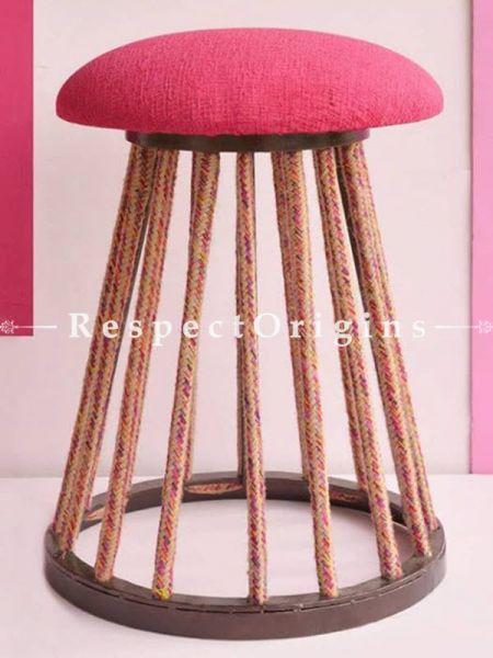 Buy Pink Iron Stool At RespectOrigins.com