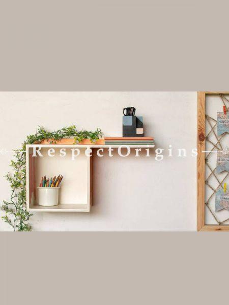 Buy Plywood Dual Wall Shelf At RespectOrigins.com