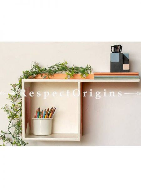 Buy Plywood Dual Wall Shelf At RespectOrigins.com