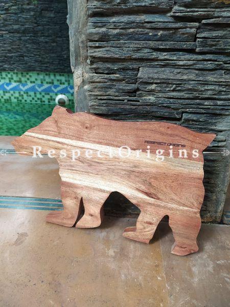 Polar Bear Holiday Charcuterie Board; 17x10 Inches; RespectOrigins.com