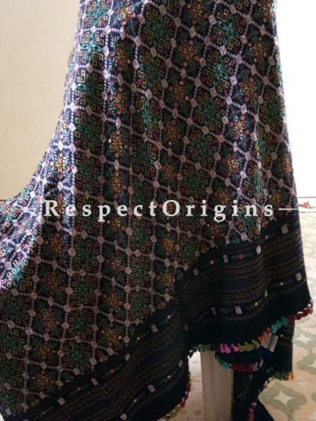 Pure Marino Wool Bujodi Handloom Shawl Online at RespectOrigins.com