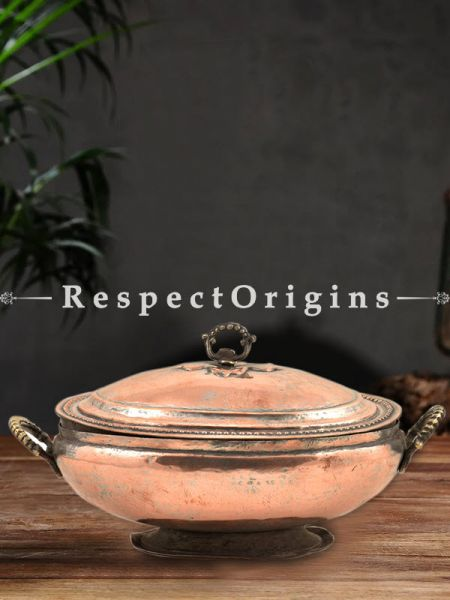 Buy Engraved Rice Bowl With Design on the Lid and Handle At RespectOrigins.com