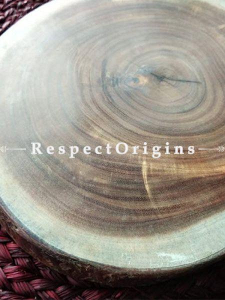 Handcrafted Round Wooden Cheese Board Rustic Elegant Serving Boards, Platter, RespectOrigins