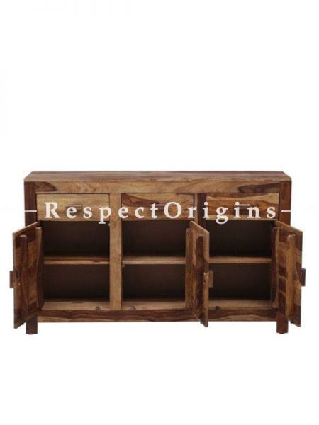 Buy Rustic Dresser or Console in Handcrafted Vintage Sheesham Wood At RespectOrigins.com