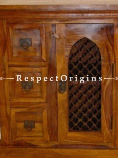 Buy Rustic Handcrafted Corner Console or Dresser At RespectOrigins.com