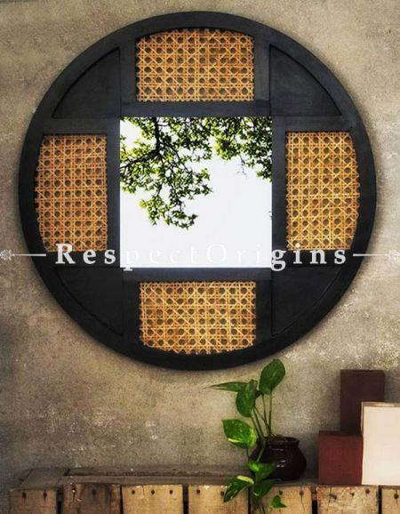 Buy Round Rustique Mirror At RespectOrigins.com