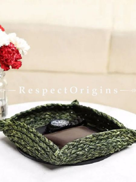 Hand Made Eco Friendly Sabai Grass Charger Basket; 9 x 9; RespectOrigins.com