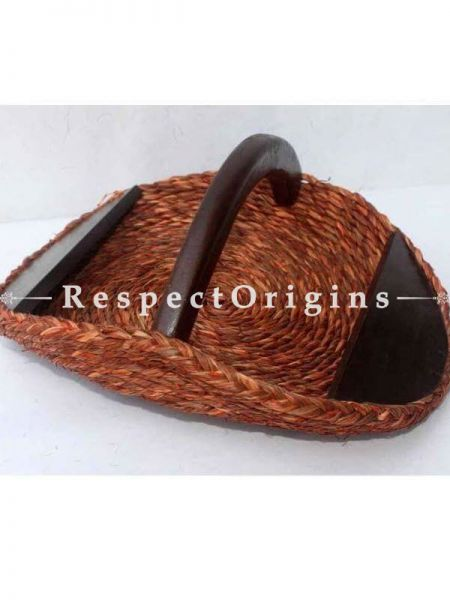 Hand Made Eco Friendly Sabai Grass Basket; 8 x 12; RespectOrigins.com