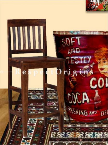 Buy Sams High Wooden Bar Stools  At RespectOrigins.com
