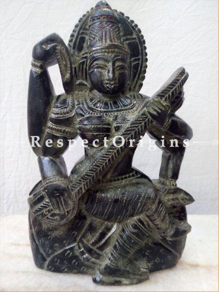 Buy Saraswati Mata; Stonework at RespectOrigins.com