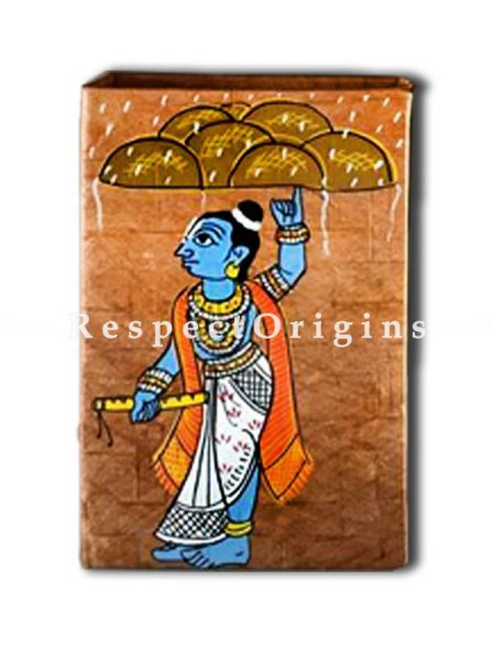 Adorable and beautiful Cheriyal Art Jewellery or Collectible Boxes Pair, RespectOrigins.com