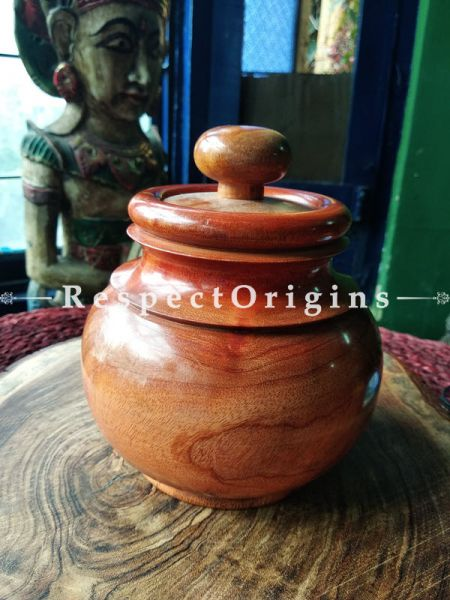 Buy Set of 3 Jars, Spice containers, Wood At RespectOrigins.com